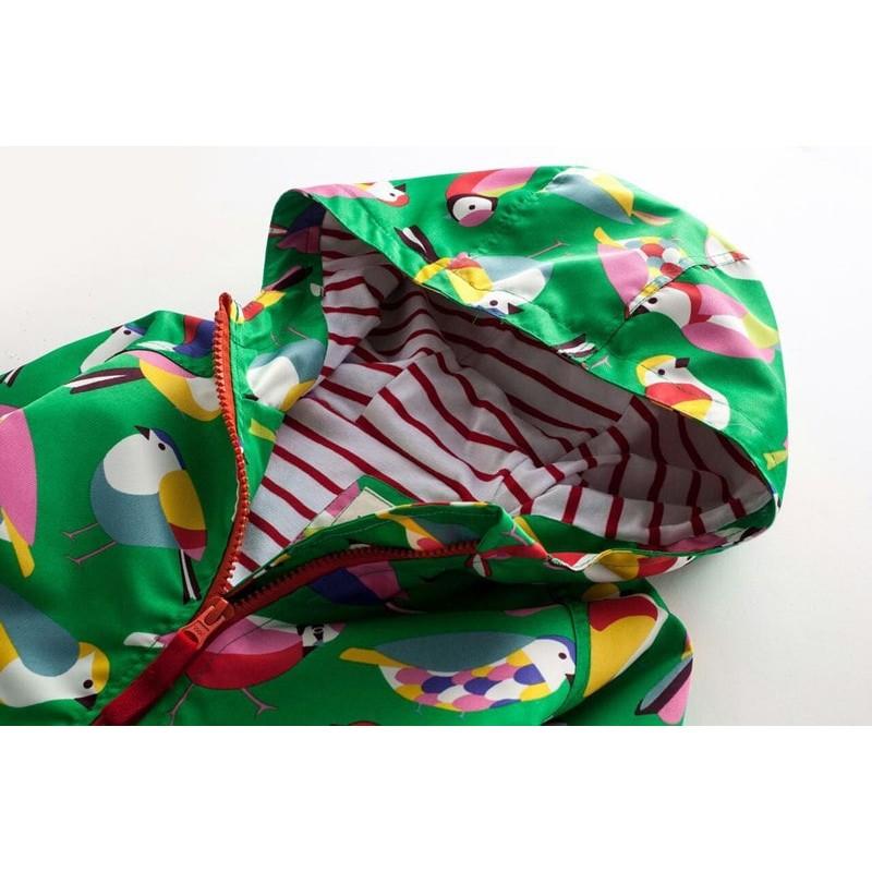Куртка для девочки Птички