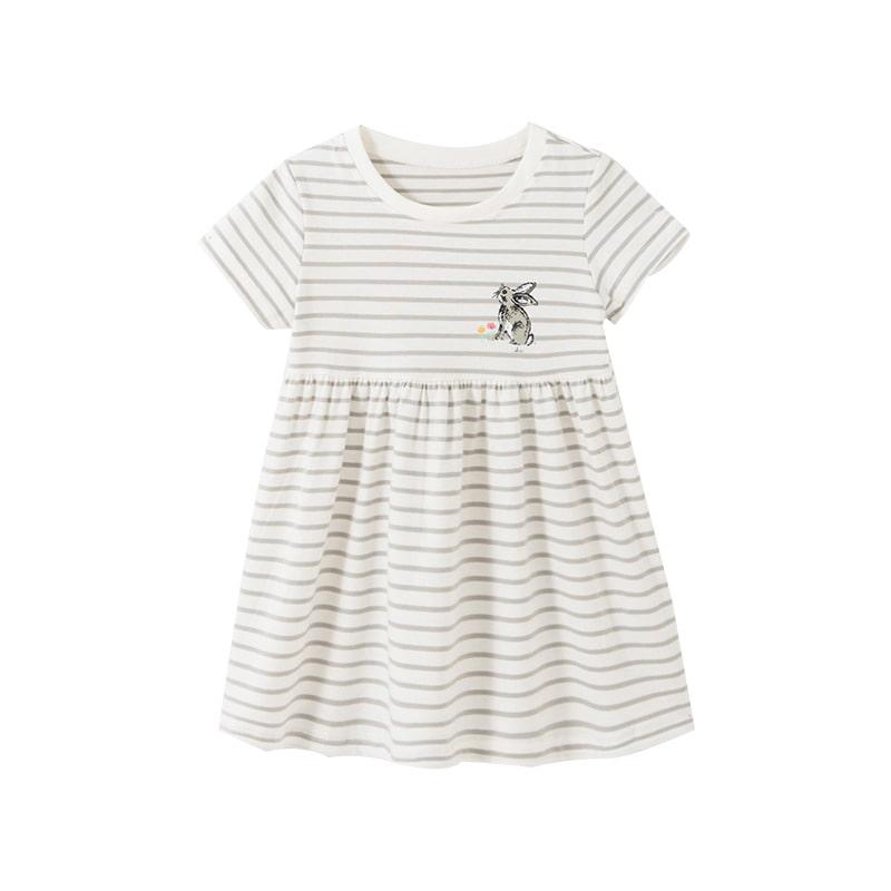 Платье для девочки Полосатый зайка