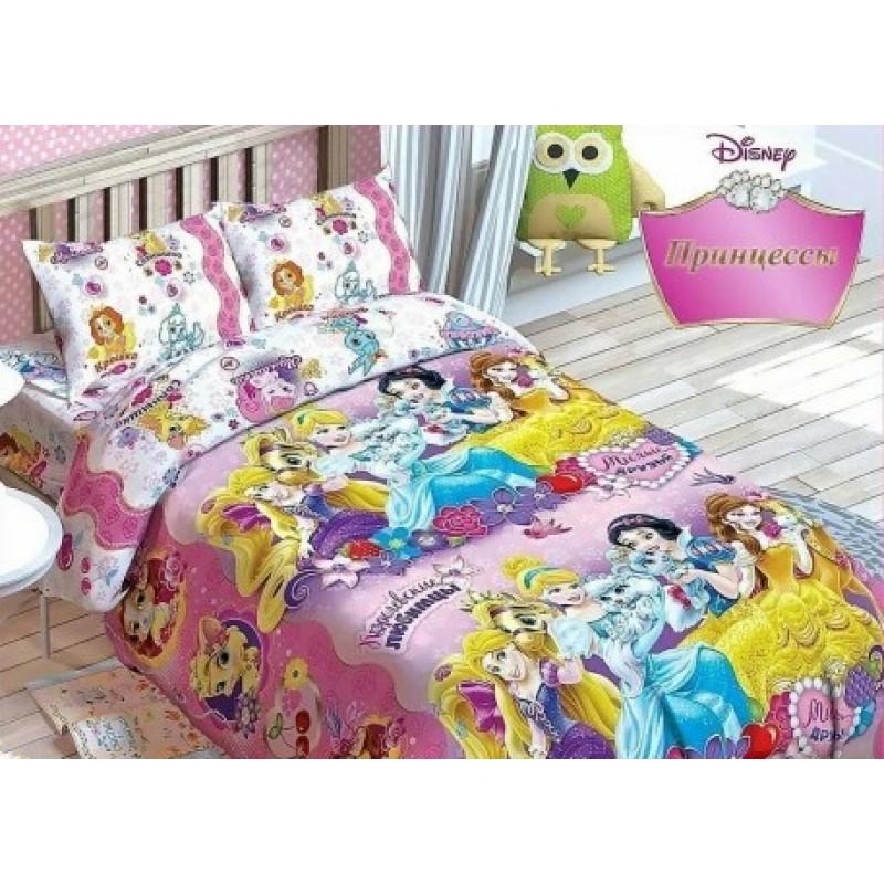 Комплект постельного белья DISNEY PRINCESS фото