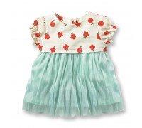 Платье для девочки Цветы