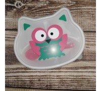 Набор детской посуды Сова 3 предмета