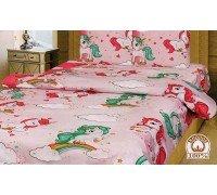 Детское постельное белье Единороги 1,5 спальное Тиротекс