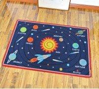 Коврик для детской комнаты Астрономия 100 х 130 см