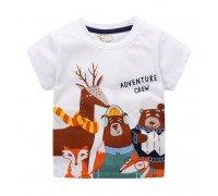 Детская футболка Туристы