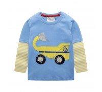 Кофта для мальчика Желтый грузовик