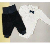 Нарядный комплект боди и штанишки