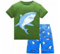 Пижама Серо-голубая акула