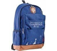 Рюкзак подростковый синий 29 * 47 * 17