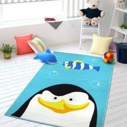 Коврик для детской комнаты Пингвин 100 х 130 см