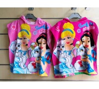 Полотенце-пончо для девочки Princess Disney