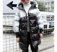 Куртка-пуховик детская Хром, чёрный