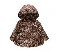 Деми куртка для девочки Леопард