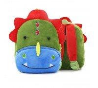 Рюкзак велюровый Динозавр
