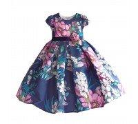 Платье для девочки Цветочный аккорд