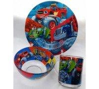 Посуда детская BLAZE Интерос подарочный набор 3ка