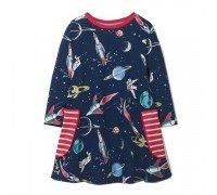 Платье для девочки Космос