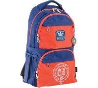 Рюкзак подростковый сине-оранжевый 31 * 46 * 17