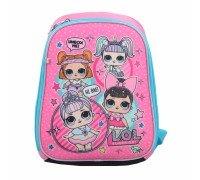 Рюкзак школьный, каркасный LOL Sweety