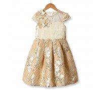 Платье для девочки Рококо, бежевый