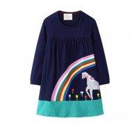 Платье для девочки Радужный сад