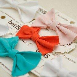 Бабочка галстук белая