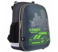 Рюкзак школьный каркасный Street Racing