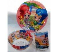 Посуда детская Шымер и шайн Интерос подарочный набор 3ка