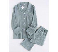 Пижама женская Мираж, зеленый
