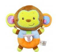 Мягкая игрушка-соска Коричневая обезьянка