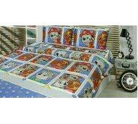 Комплект детское постельное белье полуторка PATROL Тиротекс