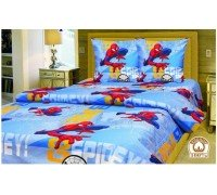 Комплект детское постельное белье полуторка Spiderman Тиротекс