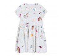 Платье для девочки Пегас и радуга