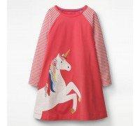 Платье для девочки Единорог