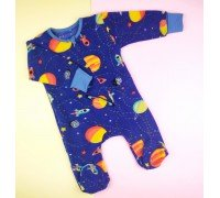 Человечек детский флис космос
