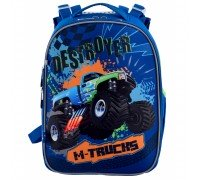 Рюкзак школьный каркасный M-Trucks