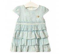 Платье для девочки Золушка, голубой