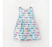 Платье для девочки Песики