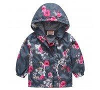 Куртка-ветровка для девочки Цветущая сакура