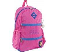 Рюкзак подростковый розовый 31*47*16.5