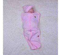 Кокон для новорожденных Нежность (розовый)