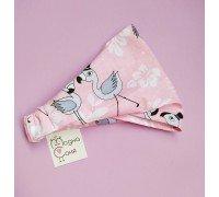 Косынка детская Фламинго