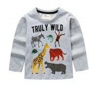 Детская кофта Африканские животные