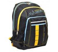 Рюкзак подростковый Oxford черный 42*32*18см
