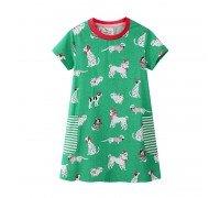 Платье для девочки Собачки