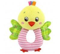 Мягкая игрушка - погремушка Цыпленок