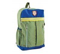 Рюкзак подростковый зеленый 28 * 45 * 11