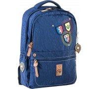 Рюкзак подростковый синий 28.5 * 44.5 * 13.5