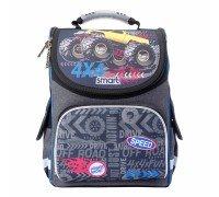 Рюкзак школьный каркасный Speed 4*4