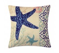 Подушка декоративная Морская звезда 45 х 45 см