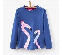 Кофта для девочки Фламинго